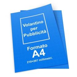 100 Volantini A4