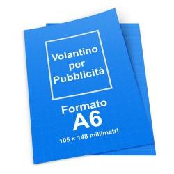 100 Volantini A6