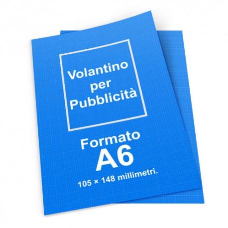Tipografia Frosinone Stampa Volantino A6 Misure 105x148 Volantino Pubblicitario. Per alti quantitativi richiedere un preventivo