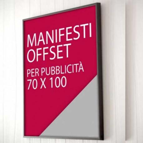 Manifesti OffSet Frosinone, stampa manifesti tipografia Frosinone. Stampa con procedimento Offset professionale