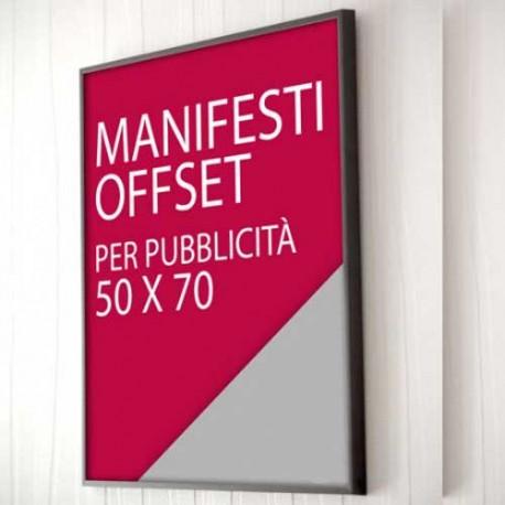 Stampa manifesti Offset a Frosinone. Tipografia professionale Grafica Esse. Per alti quantitativi contattateci 0775 290145